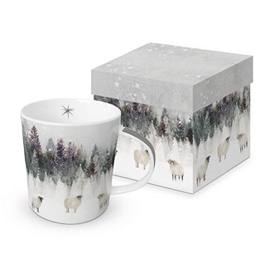 Trend Mug GB Snowy Landscape