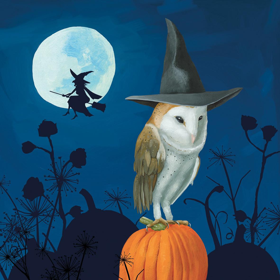 Wizard´s Halloween Napkin 33x33
