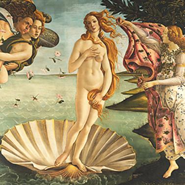 Birth of Venus 33x33 cm