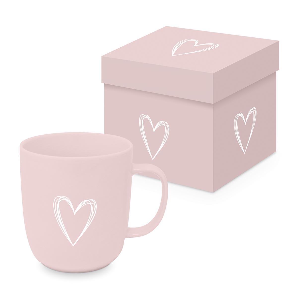 Pure Heart rosé Matte Mug GB