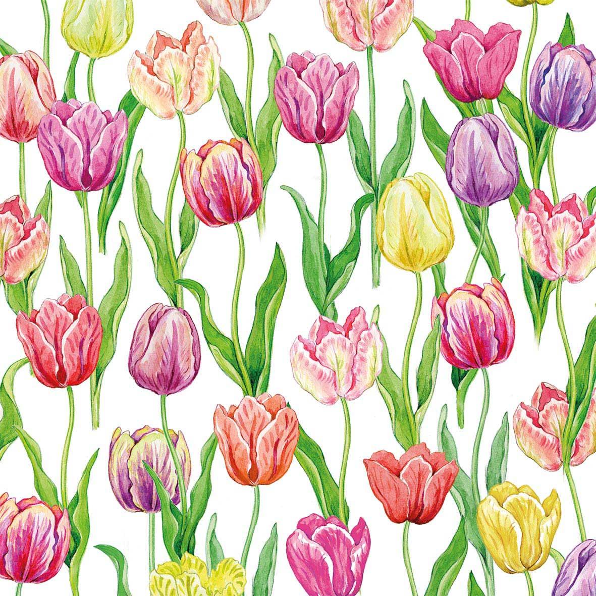 Tulip Flush Napkin 33x33