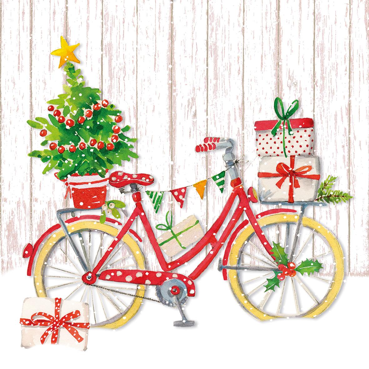 Snow Bike Napkin 33x33