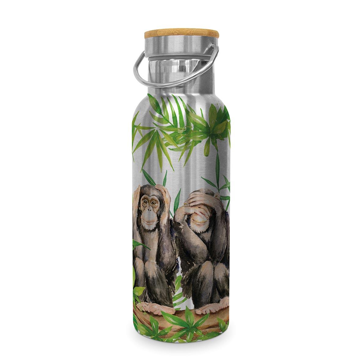 Three Apes Steel Bottle 0,50