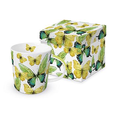 Trend Mug GB Green Butterflies