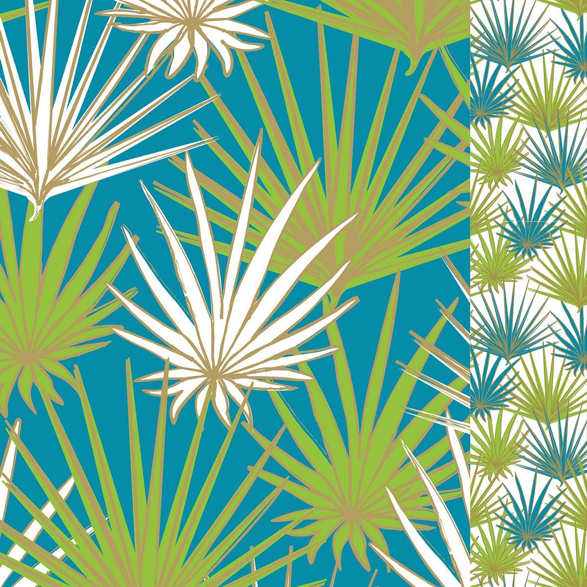 Palms 33x33 cm
