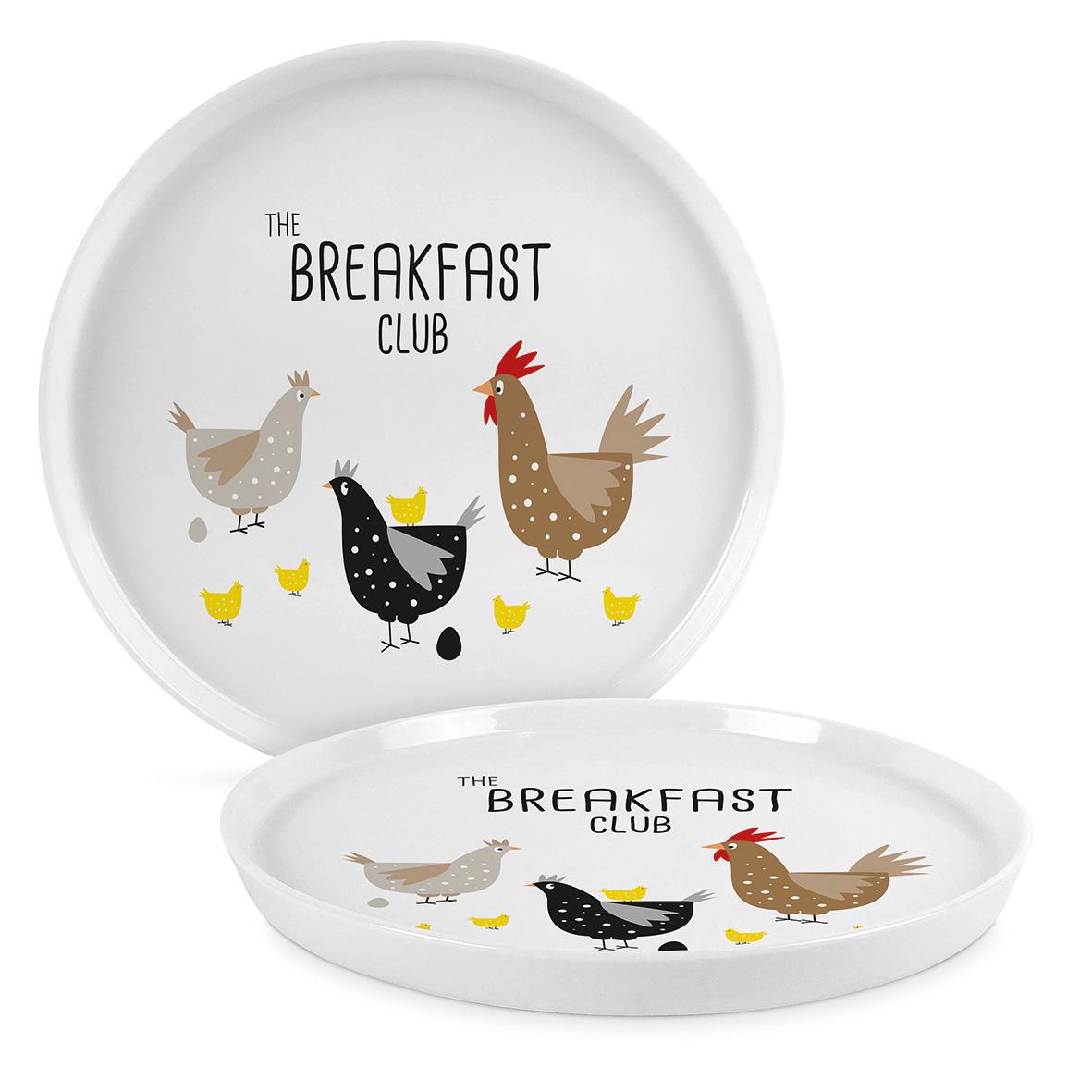 Breakfast Club Trend Plate 21