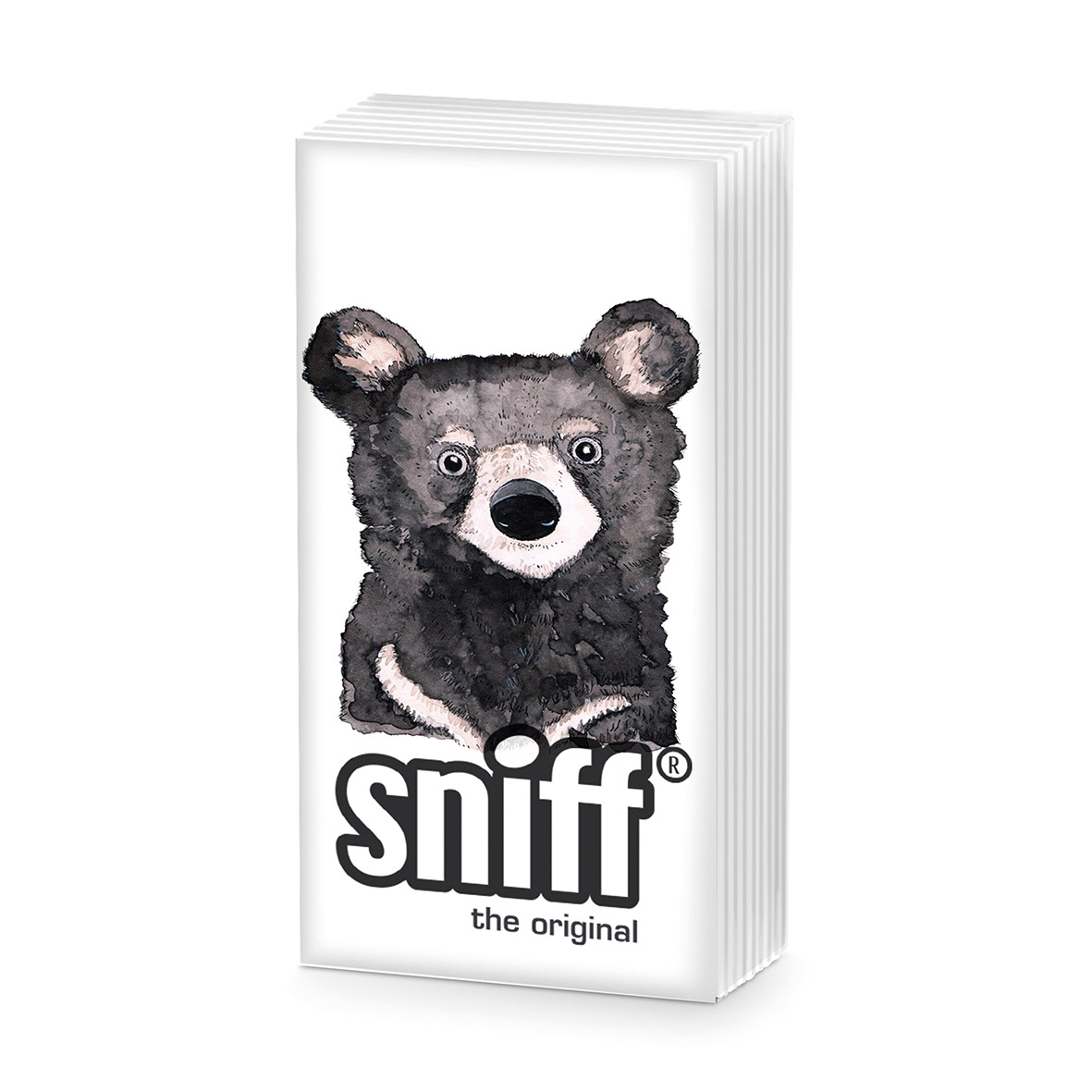 Bear HandkerchiefSniff