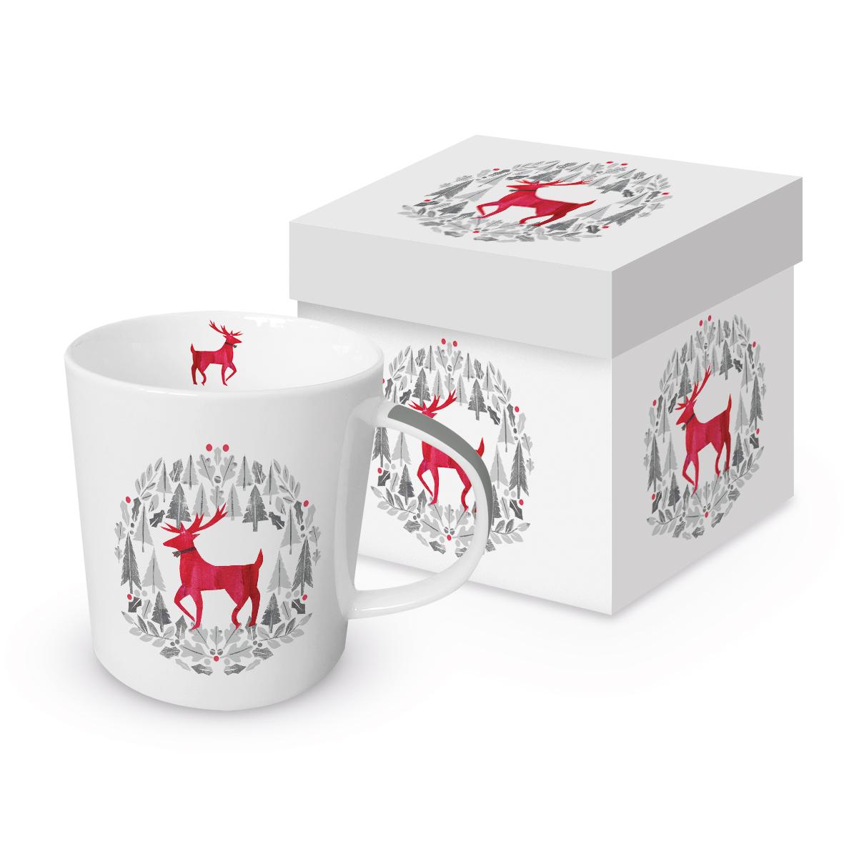 Silver Deer Trend Mug GB