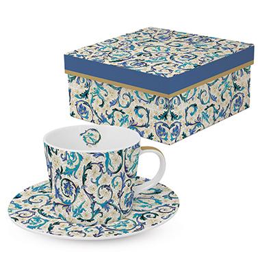 Trend Coffee GB Fiorentina azzurra real gold