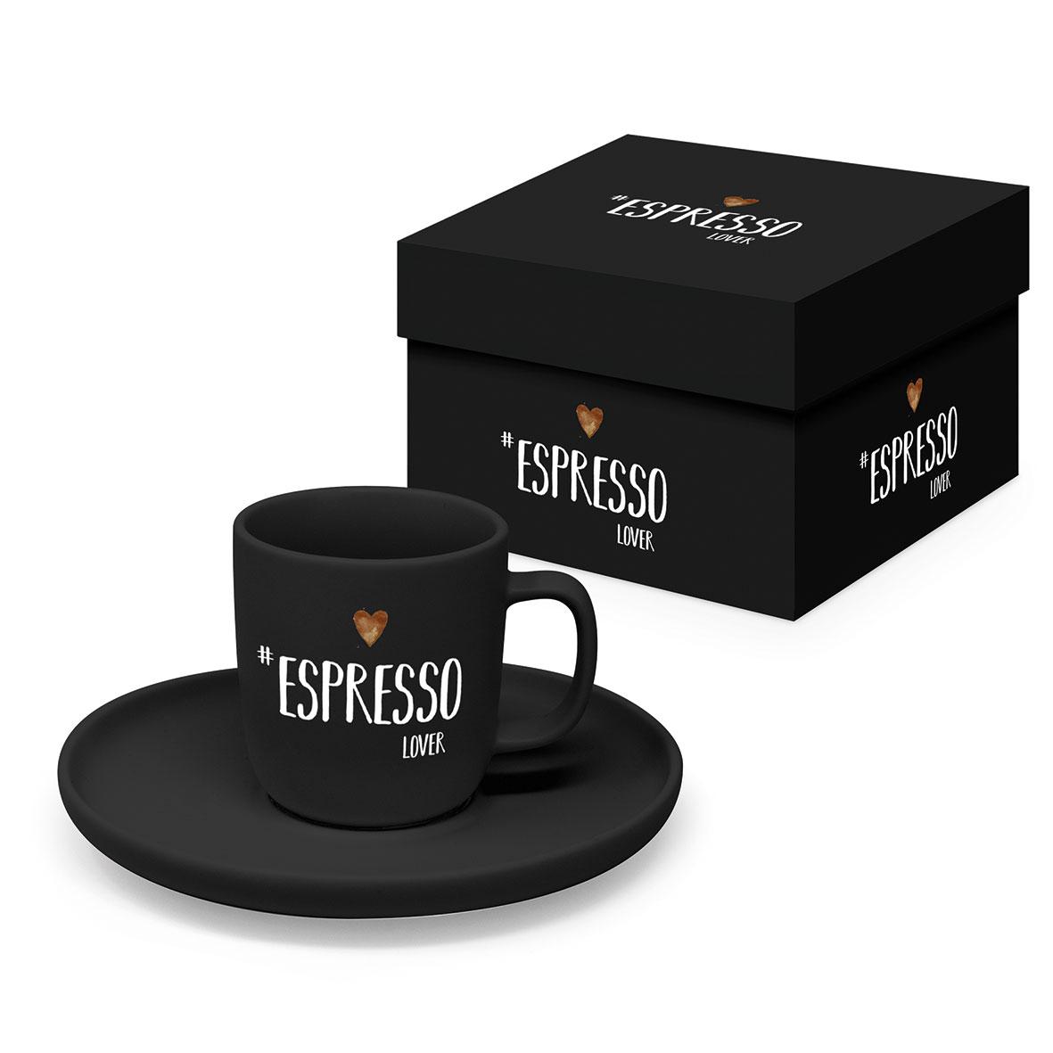 Espresso Lover black Matte Espresso