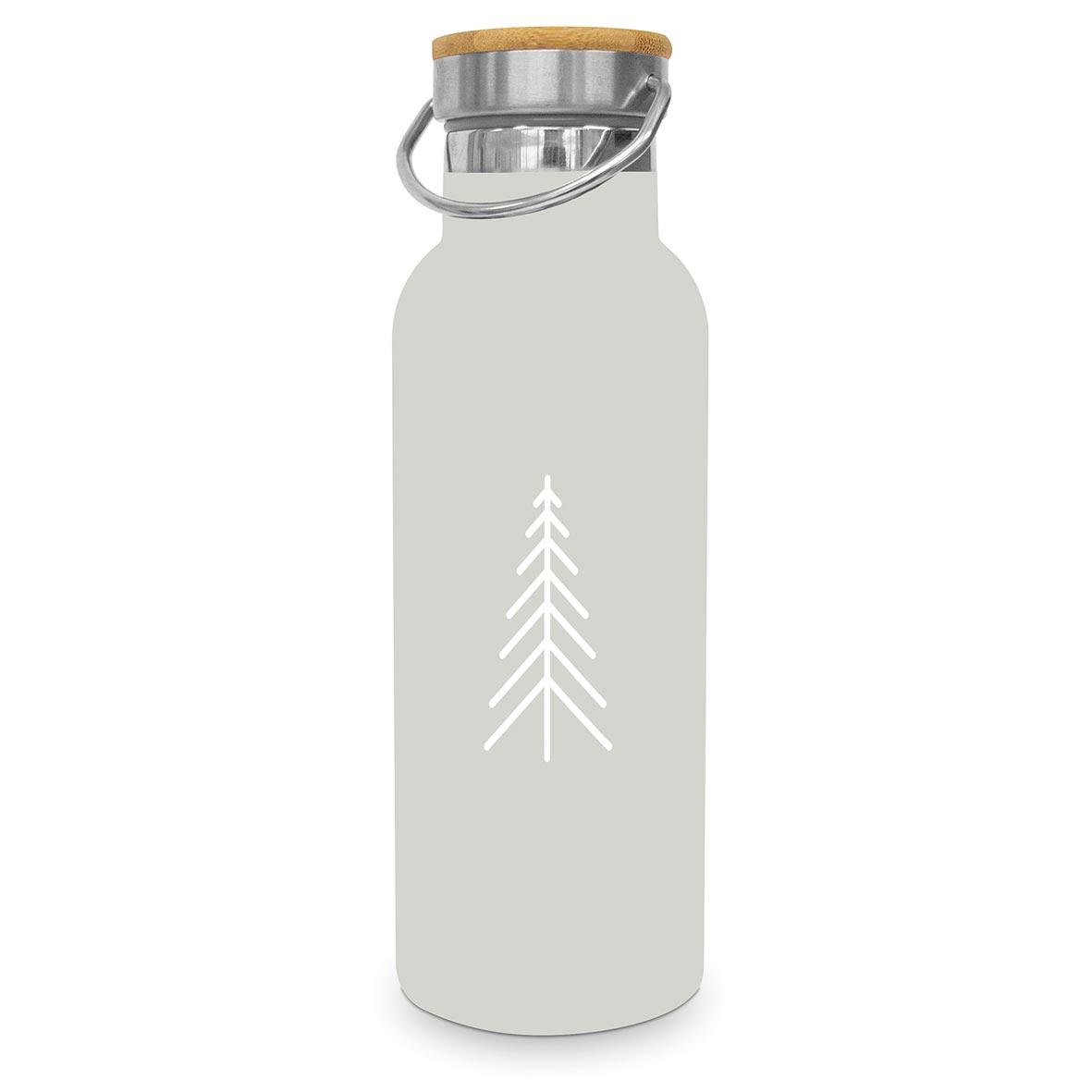 Pure Mood taupe Steel Bottle 0,50