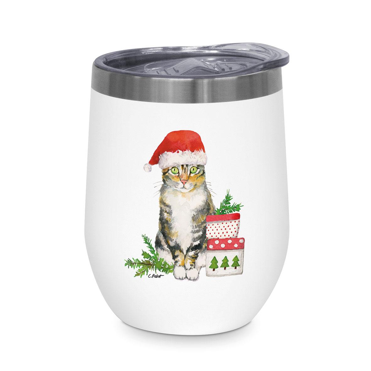 Christmas Kitty Thermo Mug 0,35