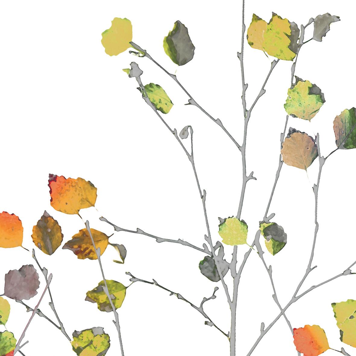 Minimal Autumn Napkin 25x25