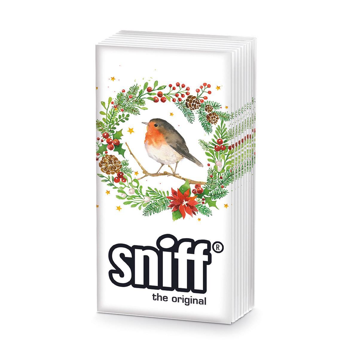 Hey Robin! HandkerchiefSniff