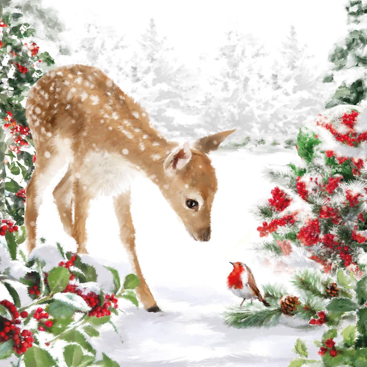 Bambi Napkin 33x33