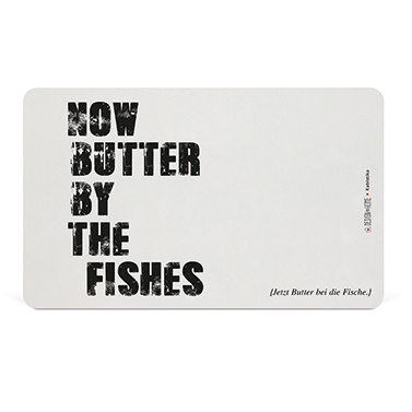 Tray Butter by the fishes