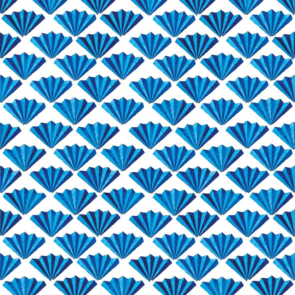 Archetti azzurri Napkin 33x33