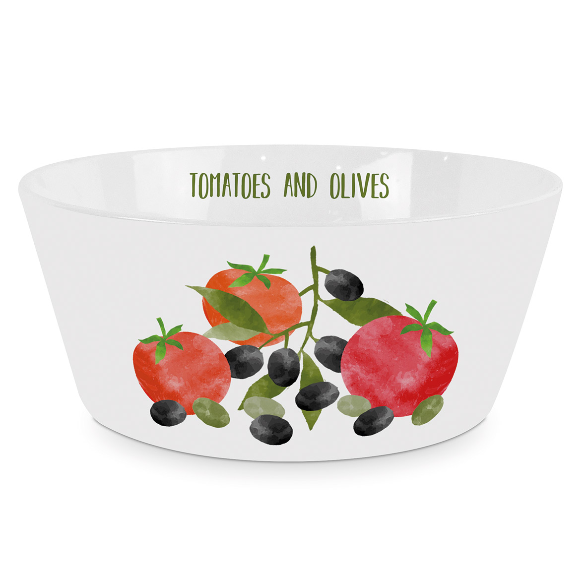 Tomatoes & Olives Trend Bowl
