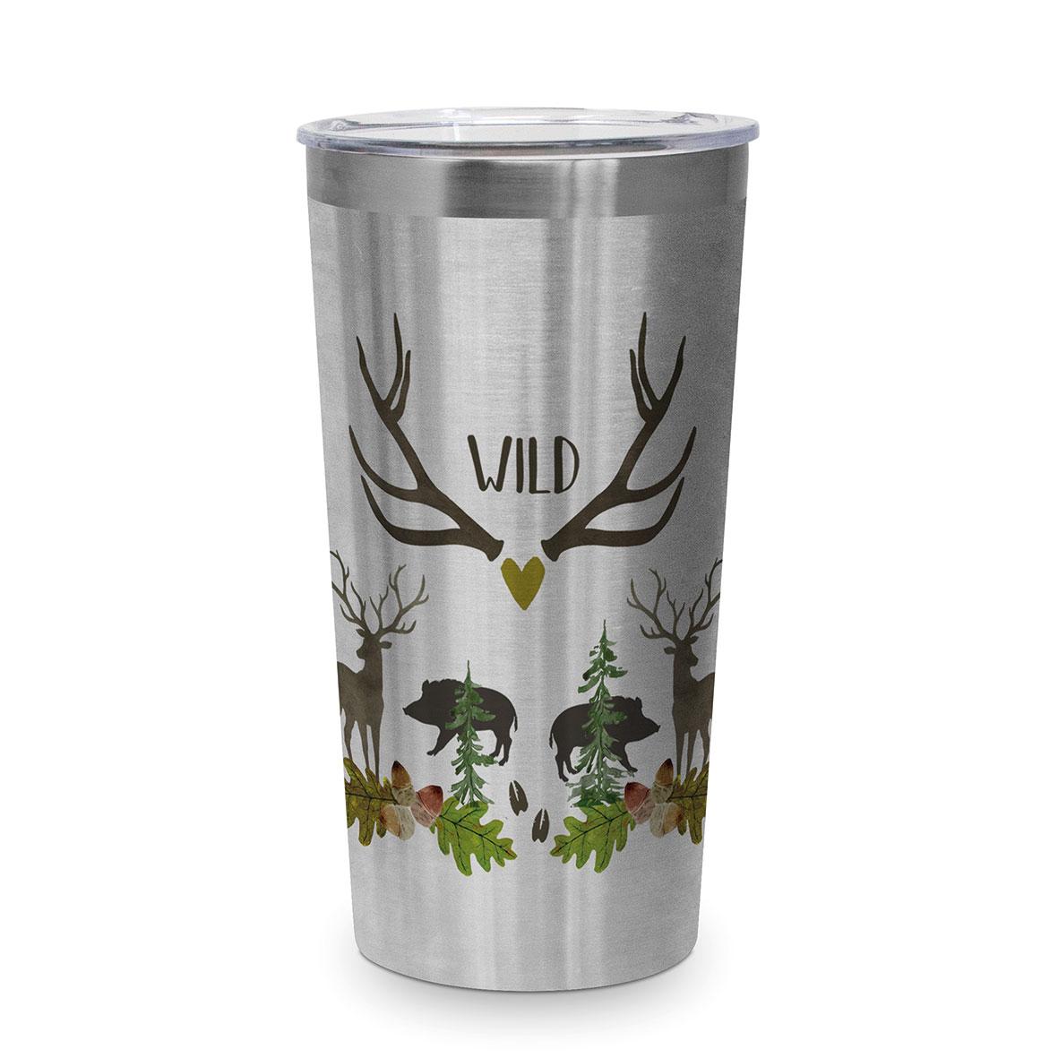 Wild Steel Travel Mug 0,43