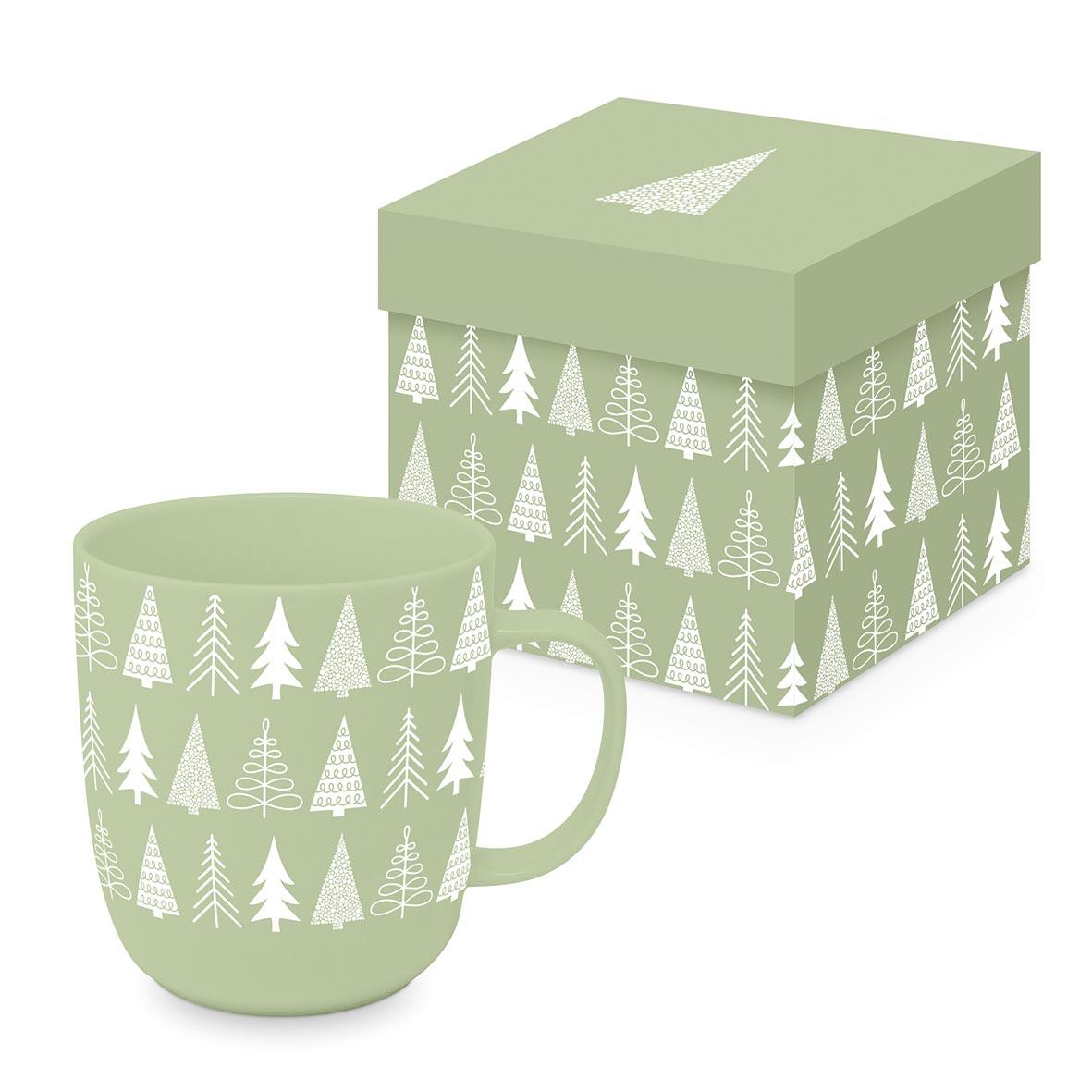 Pure Mood green Matte Mug GB
