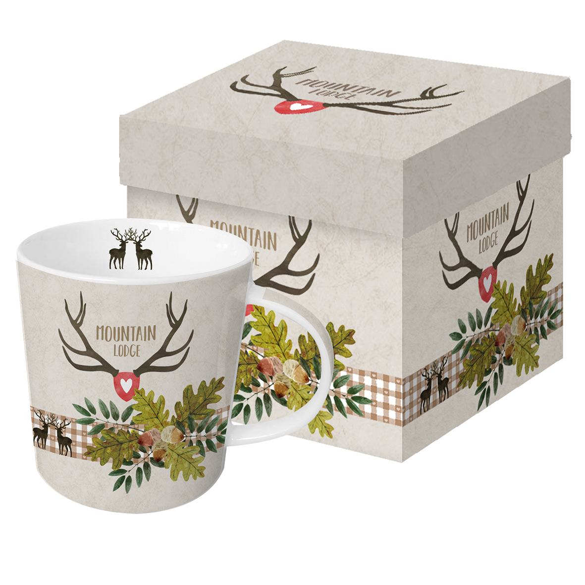 Mountain Lodge beige Trend Mug GB