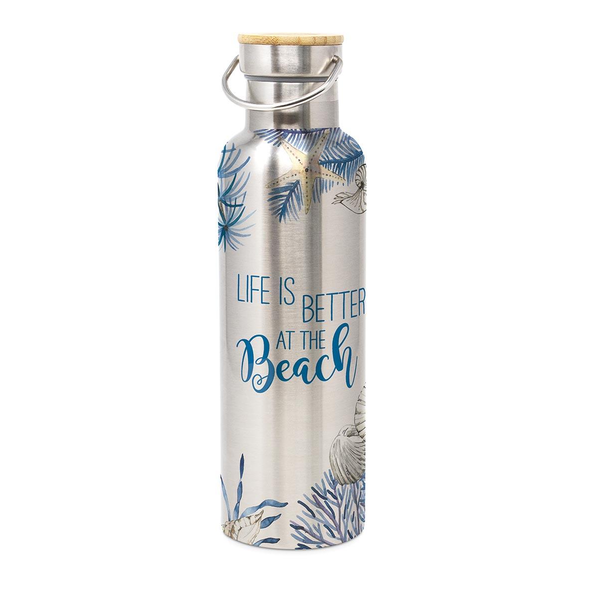 Ocean Life is better Steel Bottle 0,75