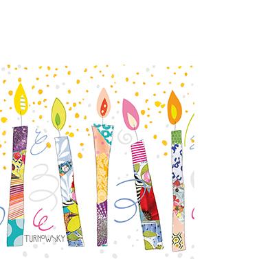 Birthday Candles 25x25 cm
