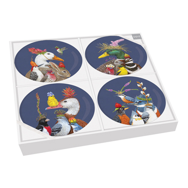 Group Chat Plate Set of 4