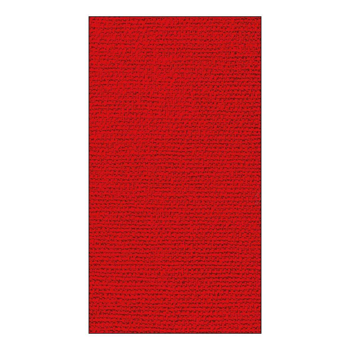 Canvas red GuestTowels 33x40