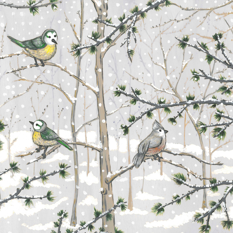Snow Paradise Napkin 33x33