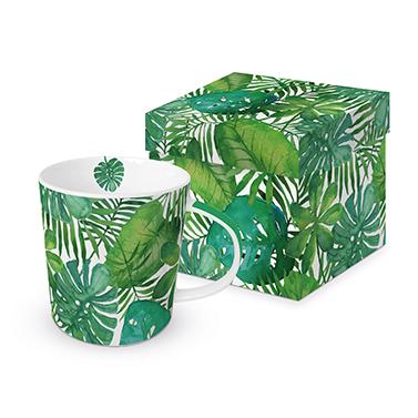 Trend Mug GB Feuilles Tropicales