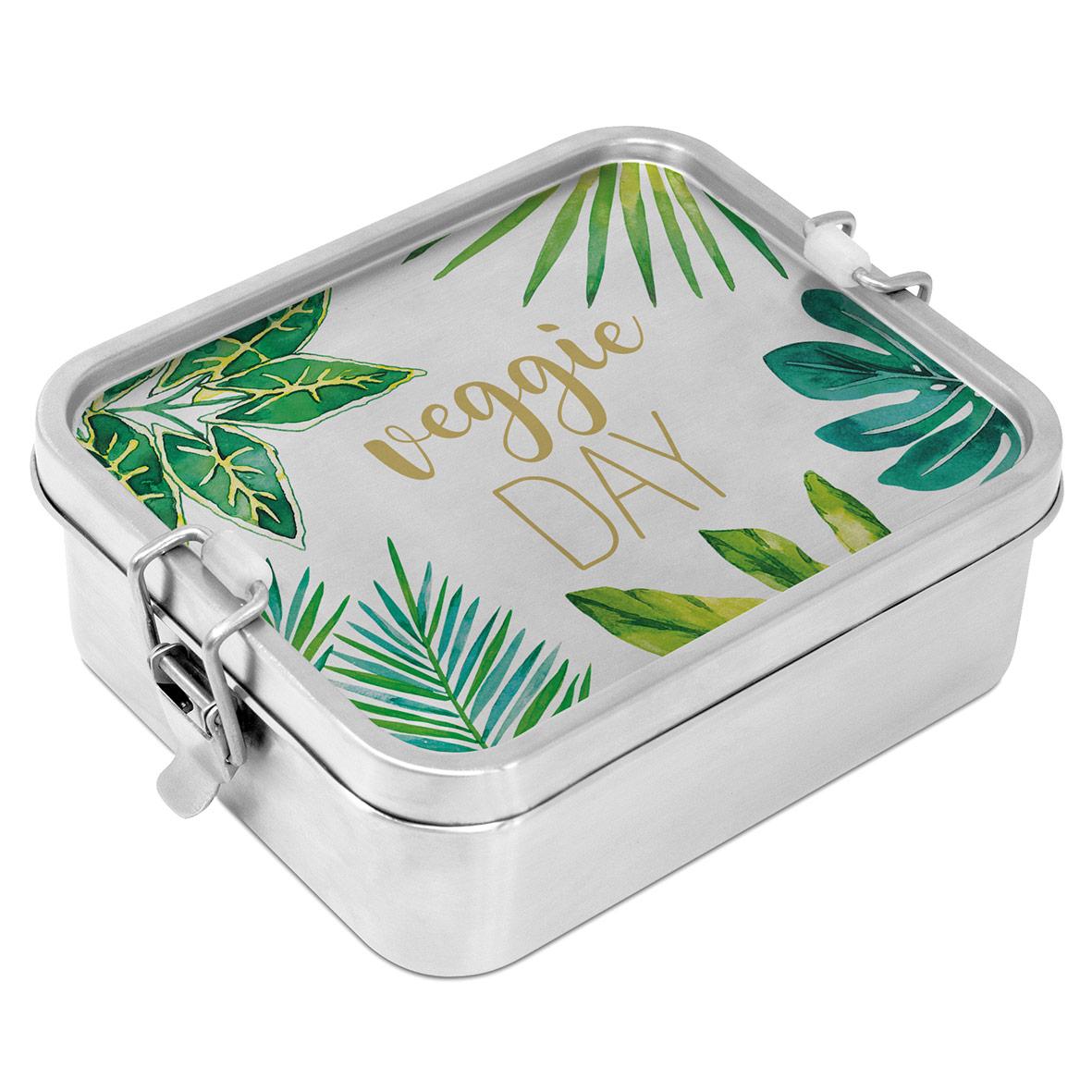 Jungle Steel Lunch Box
