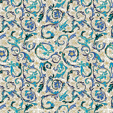 Fiorentina azzurra 33x33 cm