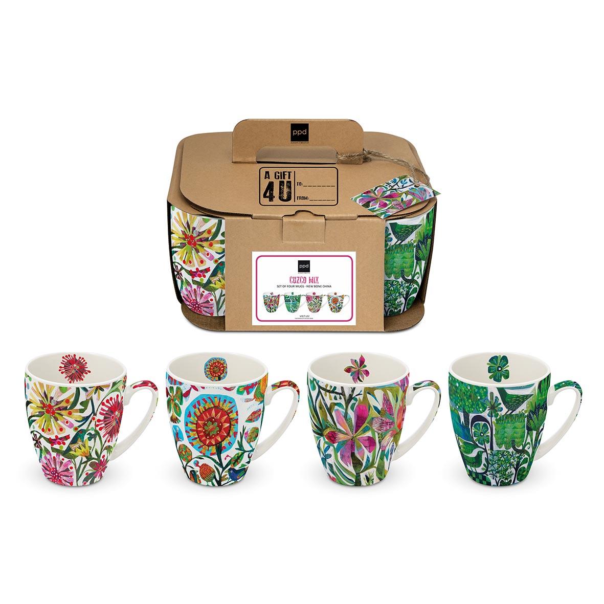 Cuzco & Co. 4 Mug Set