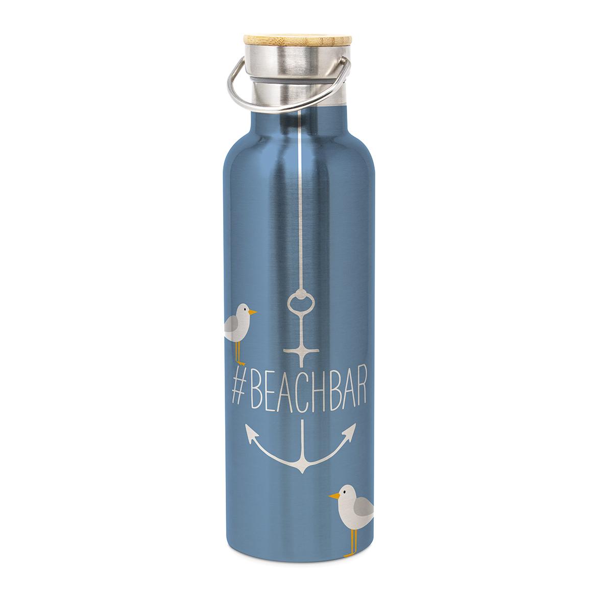 Stainless Steel Bottle Beach