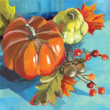 Pumpkin Musée 33x33 cm