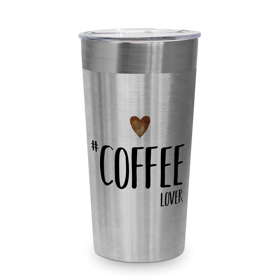 Coffee Lover Steel Travel Mug