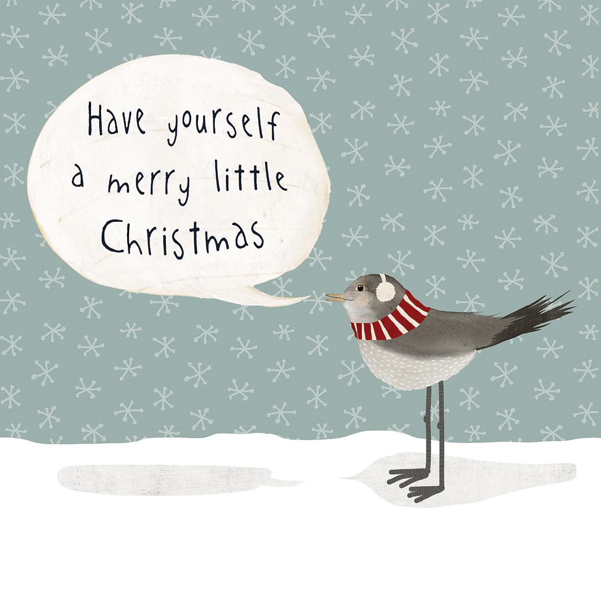 Merry Little Christmas Napkin 33x33