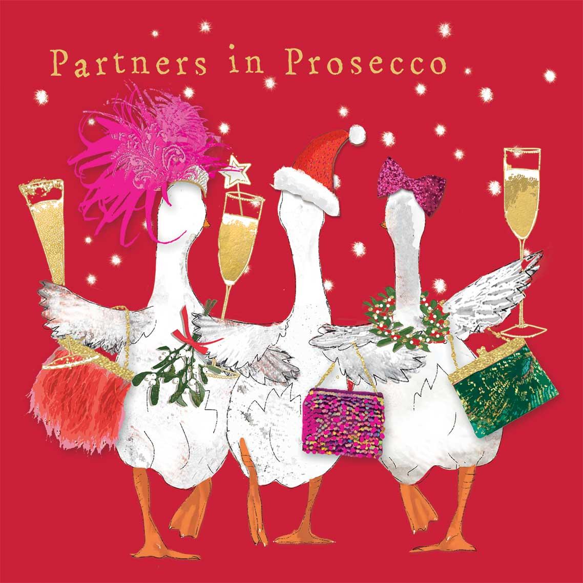 Partners in Prosecco Napkin 33x33