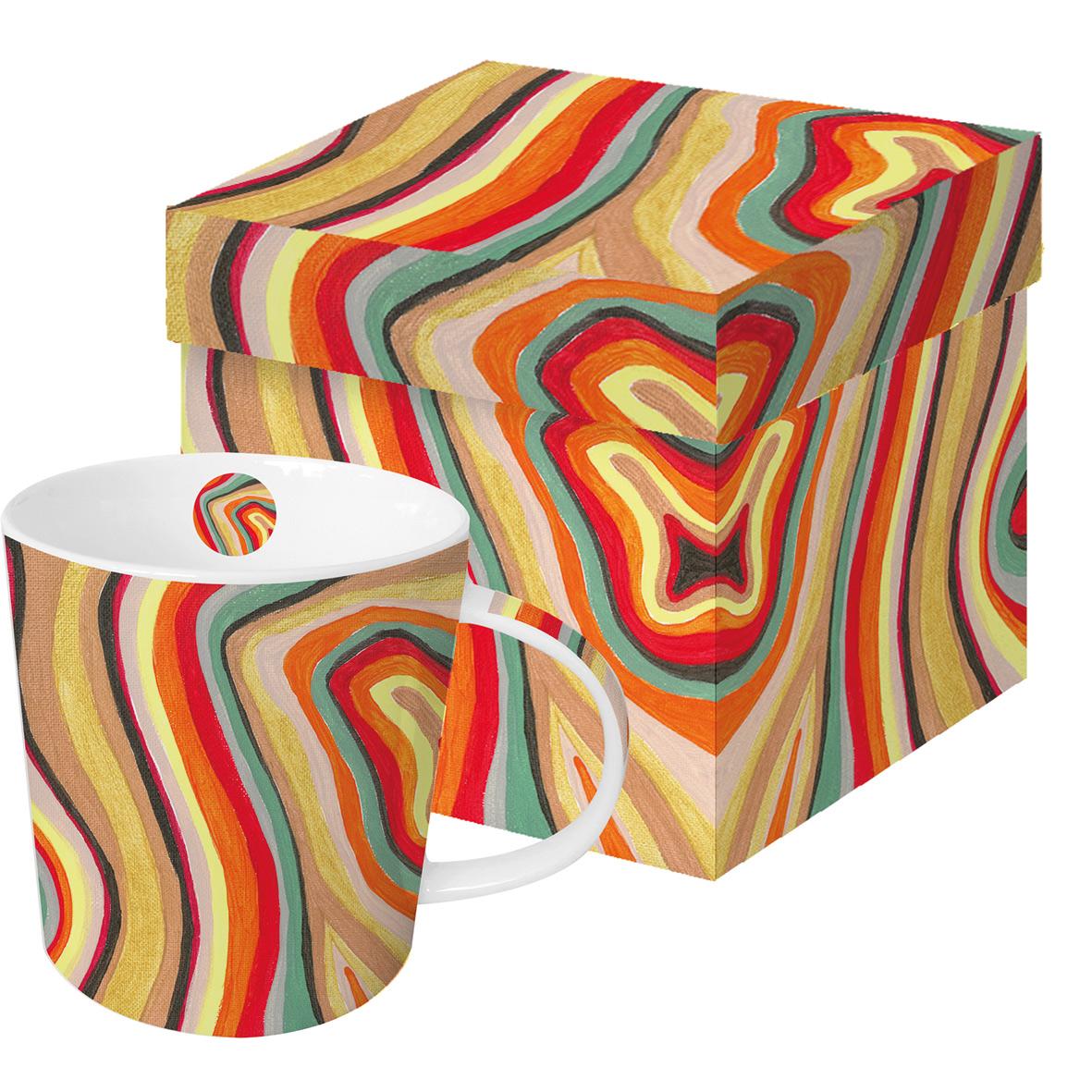 Colourful Stripes Trend Mug GB