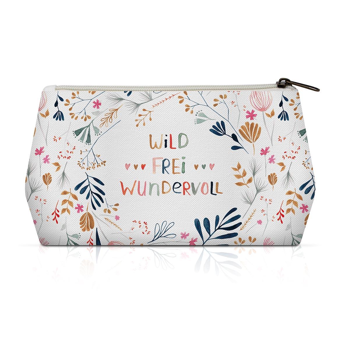 Wild, Frei, Wundervoll Cosmetic Bag