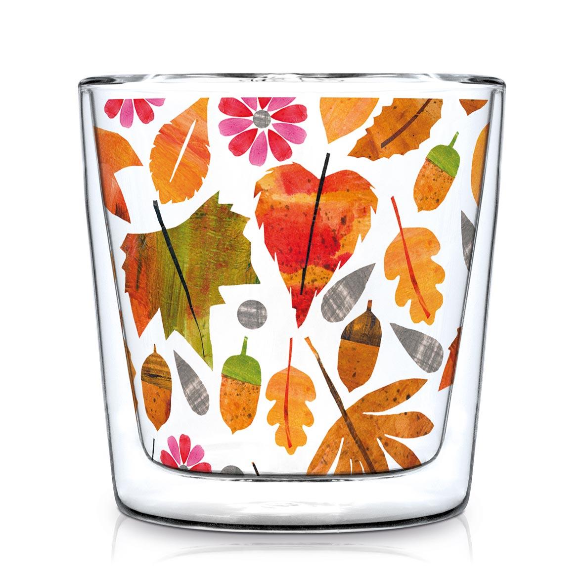 Autumn Leaves Trendglas DW