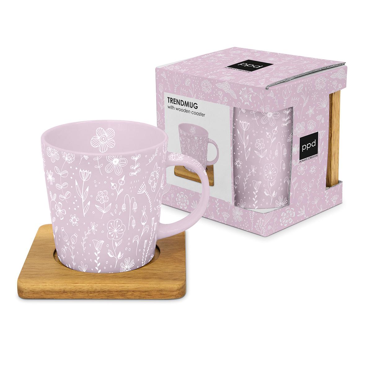 Pure Flower rosé Trend Mug nature