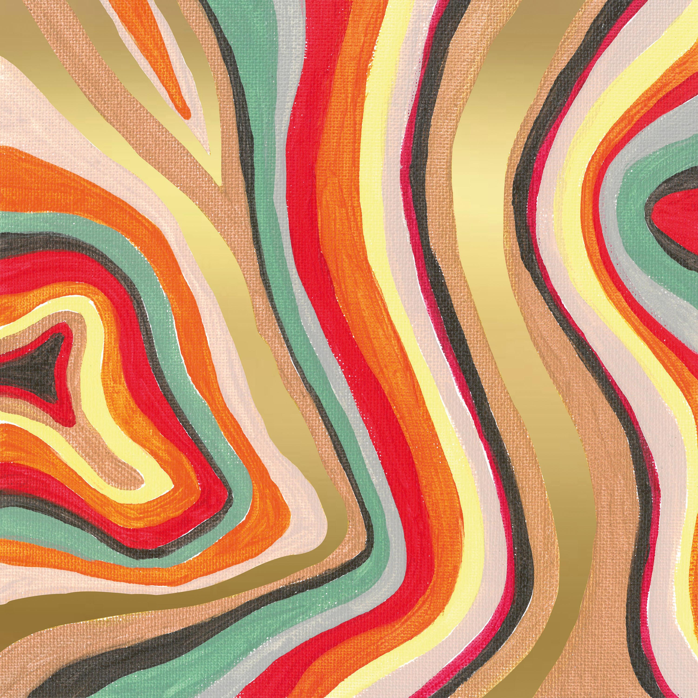 Colourful Stripes Napkin 33x33