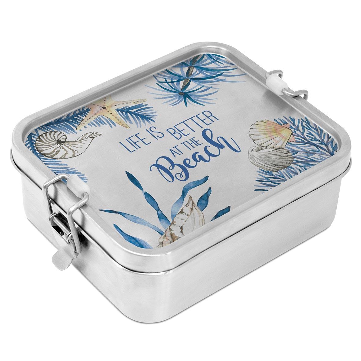 Ocean Life is better Steel Lunch Box