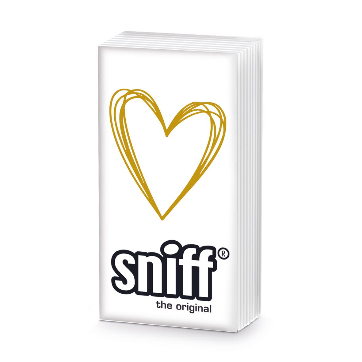 Pure Heart gold HandkerchiefSniff