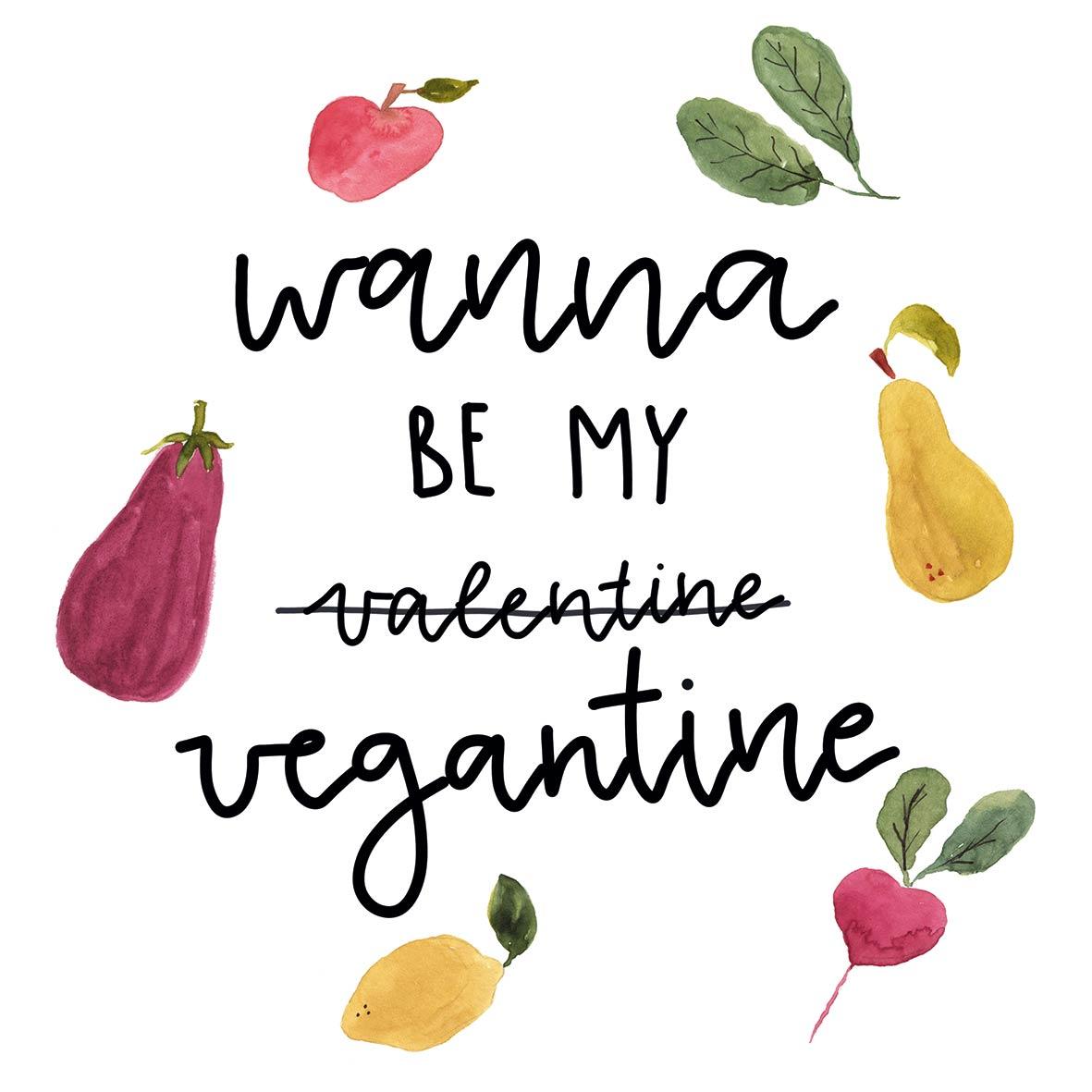 Vegantine Napkin 33x33