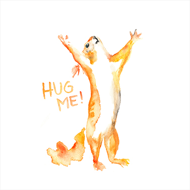 Hug Me! 33x33 cm