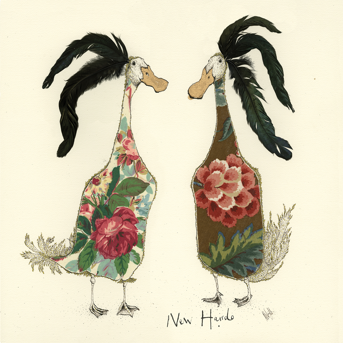 Chicks 33x33 cm