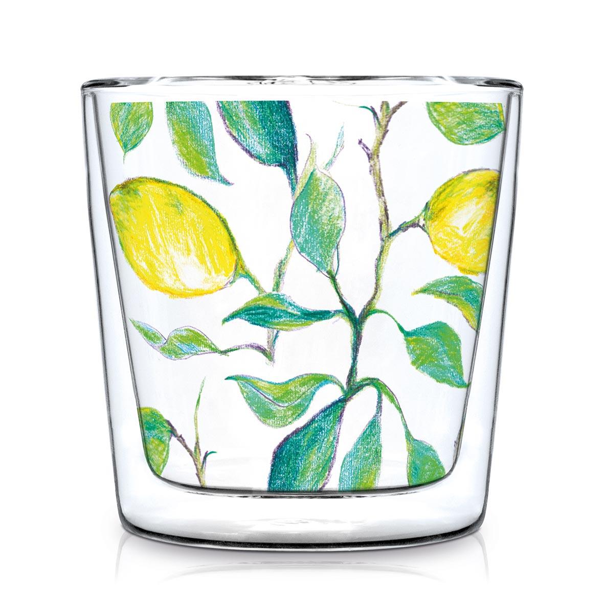 Doublewall Trendglass Beautiful Lemons
